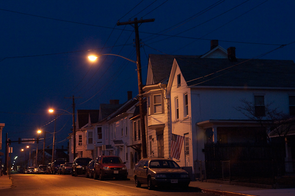 North Cleveland Avenue, Hagerstown, Maryland, december 2006