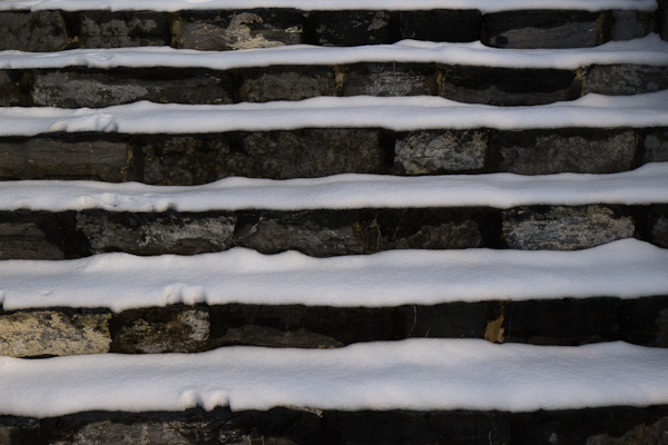 Steps, Pangborn Park, Hagerstown, Maryland, January 2013