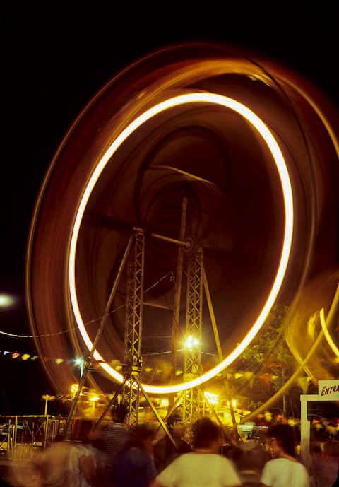 Ferris Wheel, Chincoteague, Virginia, July 1979