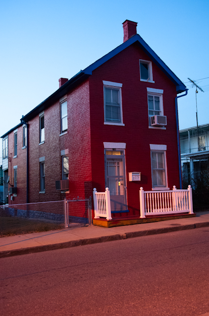 Red Brick House, Hagerstown, Maryland, December 30, 2006