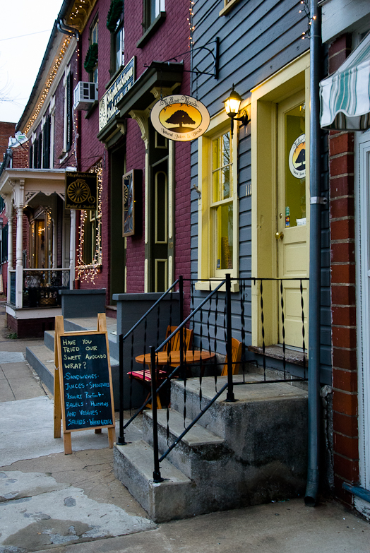 Mellow Moods, Facade and Signage, Shepherdstown, West Virginia,