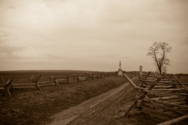 """Bloody Lane,"" Antietam National Battlefield Park, Sharpsburg, M"