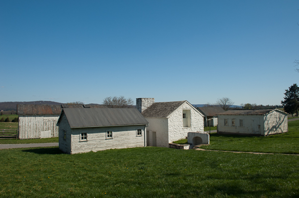 Mumma Farm, Antietam Battlefield, Sharpsburg, Maryland, April 20