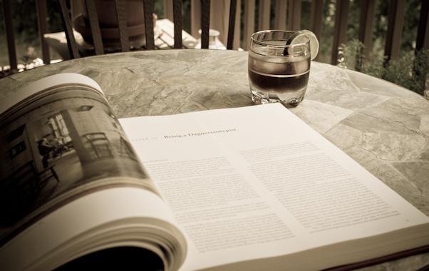 """""""Being a Dageurotypist"""" -- Reading, Balcony Garden, Hunter Hill,"""