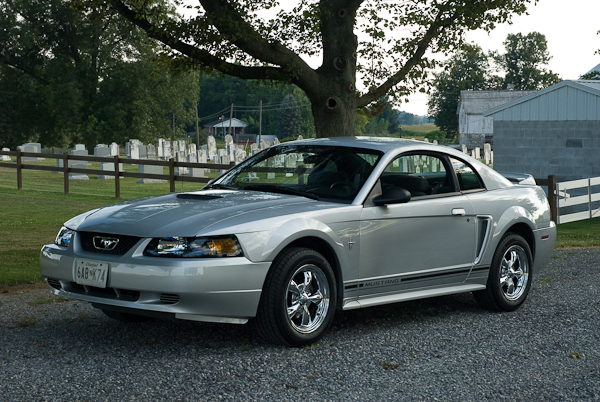 Silver Mustang 2000, Washington County, Maryland, August 2008