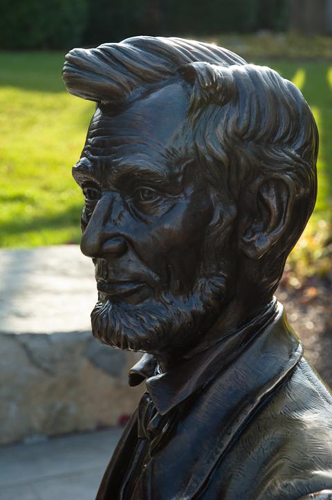 Mr. Lincoln, Gettysburg NMA, November, 2010