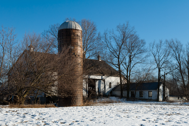 Farm, Leitersburg Pike, Hagerstown, Maryland, February 2011