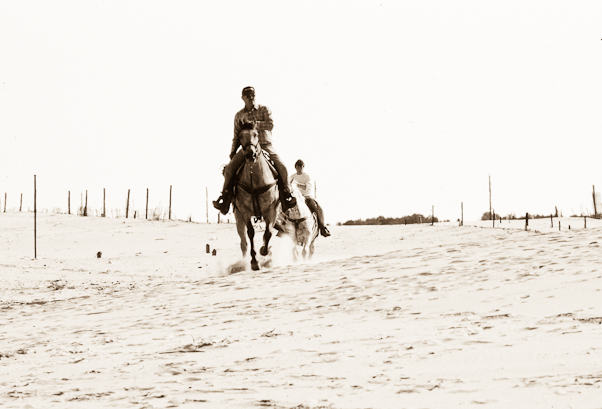 Riders, Assateague Island, Maryland, May 1991