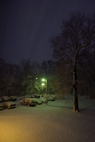 Dawn, Hunter Hill, Hagerstown, Maryland, March 6, 2012