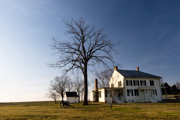 Snapshot, Mumma Farmhouse, Antietam National Battlefield Park, M