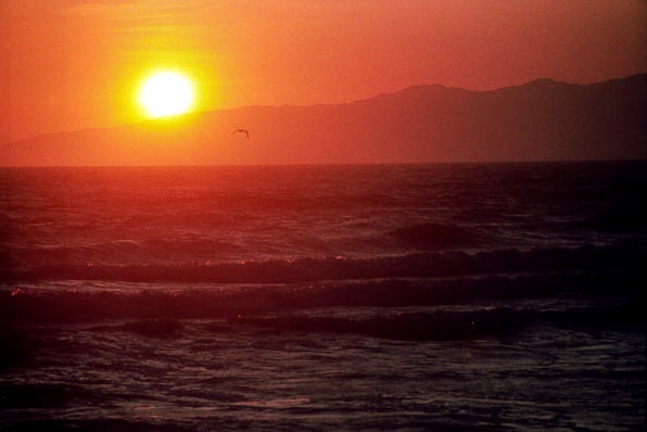 Sunset, Santa Monica Mountains, California, 1993