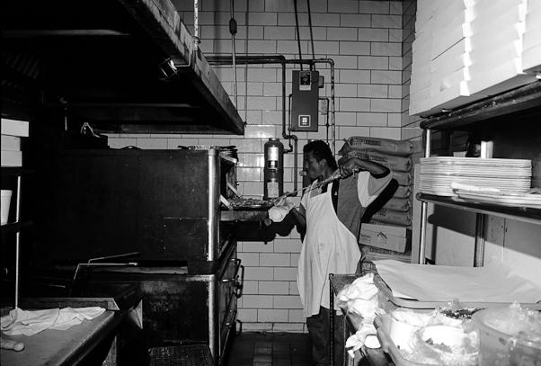 Bob Oluwole, Ledo's Restaurant, College Park, Maryland, Septembe