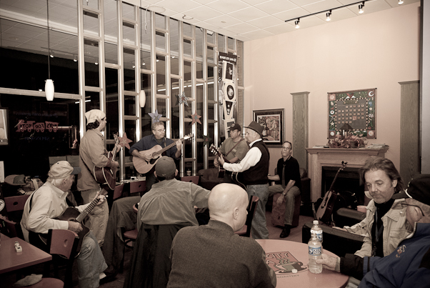 PCJ Tuesday Night Music Circle and Guests