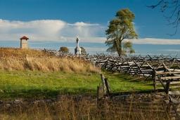 Near Bloody Lane, Autumn, Antietam National Battlefield Park, Sh