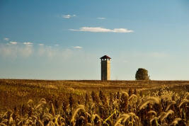 Observation Tower, Autumn, Antietam National Battlefield Park, S