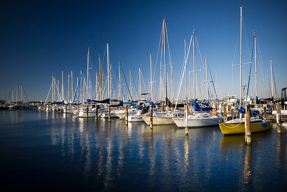 Marina, Cambridge, Maryland, October 26, 2013