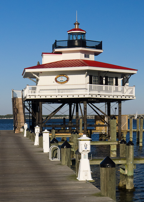 Choptank River Lighthouse, Cambridge, Maryland, October 26, 2013