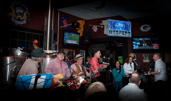 The Compadres, Benny's Pub, Hagerstown, Maryland, November 15, 2